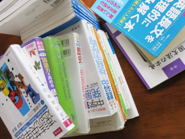 個別指導塾Aceは教材費が無料です。適宜、必要な教材は無料で配布しています。
